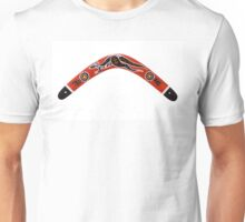 Boomerang, isolated on a white background Unisex T-Shirt