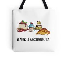 Weapons of mass compunction  Tote Bag