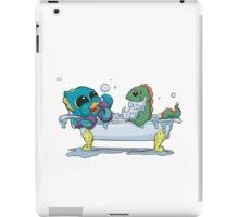 Kraken & Loch Ness in the Tub iPad Case/Skin