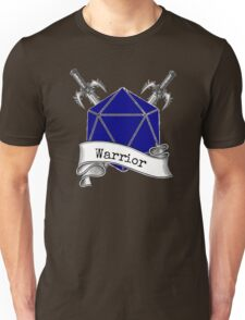 Warrior Dungeons and Dragons Unisex T-Shirt