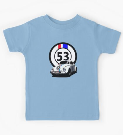 HERBIE 53 - THE LOVE BUG  Kids Tee