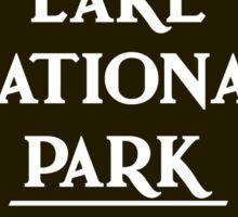 Crater Lake National Park Sign, Oregon, USA Sticker