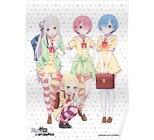 Re:zero official Poster