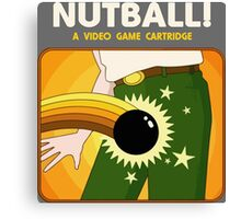 NUTBALL! - NEW ATARI GAME Canvas Print