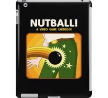 NUTBALL! - NEW ATARI GAME iPad Case/Skin