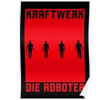 KRAFTWERK / Die Roboter Poster