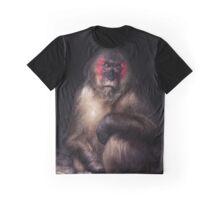 Sad Monkey Graphic T-Shirt