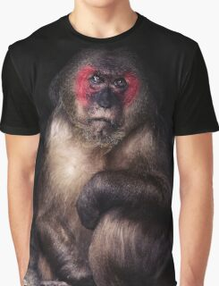 Sad Monkey Graphic T-Shirt
