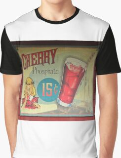 Vintage Cherry soda sign Graphic T-Shirt