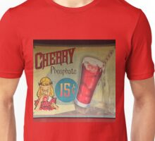 Vintage Cherry soda sign Unisex T-Shirt