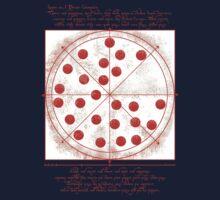 Leonardo da Vinci's Pizza  Kids Tee