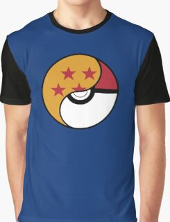 -GEEK- Pokemon X DBZ Graphic T-Shirt