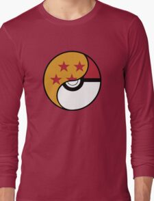 -GEEK- Pokemon X DBZ Long Sleeve T-Shirt