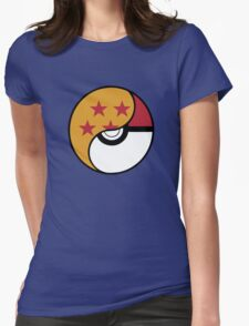 -GEEK- Pokemon X DBZ Womens Fitted T-Shirt