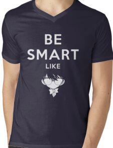 Be smart like - Detectiv Conan Mens V-Neck T-Shirt
