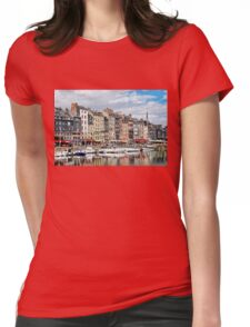 Beautiful Little Port Town  Womens Fitted T-Shirt