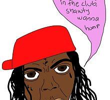 Lil Wayne Getting Crunk by heymill