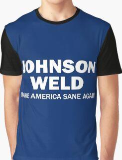 Make America Sane Again - Johnson/Weld Graphic T-Shirt