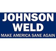 Make America Sane Again - Johnson/Weld Photographic Print