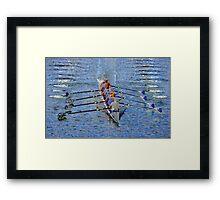 The art of rowing Framed Print
