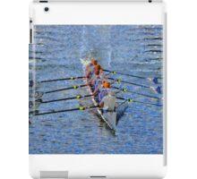 The art of rowing iPad Case/Skin