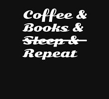 Coffee & Books & Sleep& Repeat Women's Fitted Scoop T-Shirt