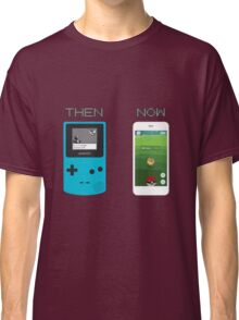 Then and Now - Pokemon Classic T-Shirt