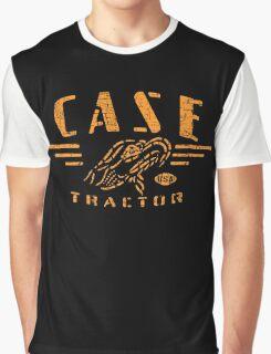 Vintage Case Tractor Eagle Graphic T-Shirt