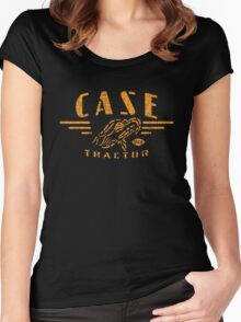 Vintage Case Tractor Eagle Women's Fitted Scoop T-Shirt