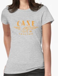 Vintage Case Tractor Eagle Womens Fitted T-Shirt
