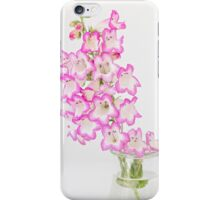 Penstemon half moon iPhone Case/Skin