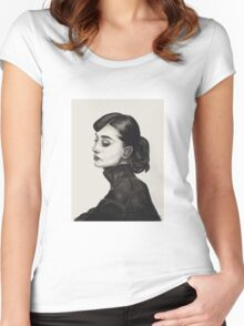 Audrey Hepburn 2 Women's Fitted Scoop T-Shirt