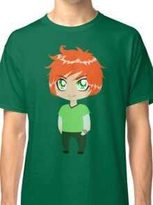 Red Headed Guy In Green Clothes Classic T-Shirt