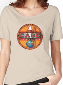 Vintage Case Tractor Eagle sign Women's Relaxed Fit T-Shirt