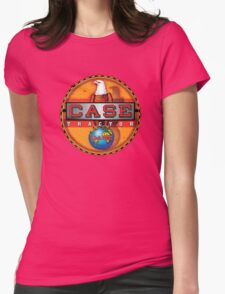 Vintage Case Tractor Eagle sign Womens Fitted T-Shirt