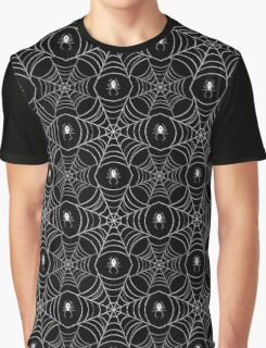 spiderweb pattern (black) Graphic T-Shirt