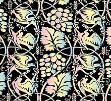 Ornate Textile Pattern by shifty303