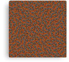 Mini Orangutan pattern Canvas Print