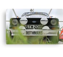 Ford Escort RS Rally Canvas Print