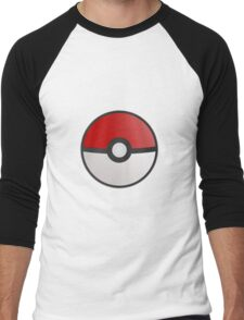 Pokemon Pokeball Men's Baseball ¾ T-Shirt