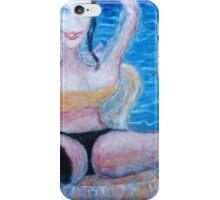 Woman and Bird 2  iPhone Case/Skin