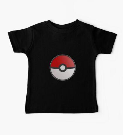 Pokemon Pokeball Baby Tee