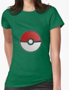 Pokemon Pokeball Womens Fitted T-Shirt