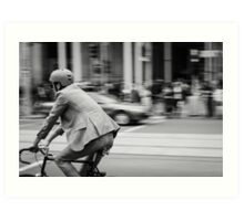 In Melbourne, We Ride! Art Print