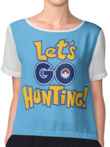 Let's Go Hunting! Chiffon Top