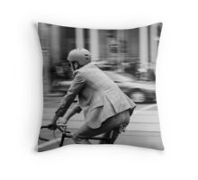 In Melbourne, We Ride! Throw Pillow