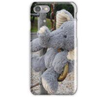 Hunty the Elephant on the Swings? iPhone Case/Skin