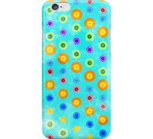 circles with texture iPhone Case/Skin
