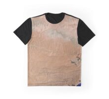 Satellite image Southeast Yemen Graphic T-Shirt