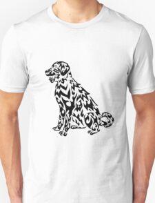 Tribal Dog (Labrador)  Unisex T-Shirt